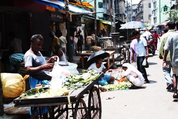 Un mercado de Calcuta | AGUS MORALES