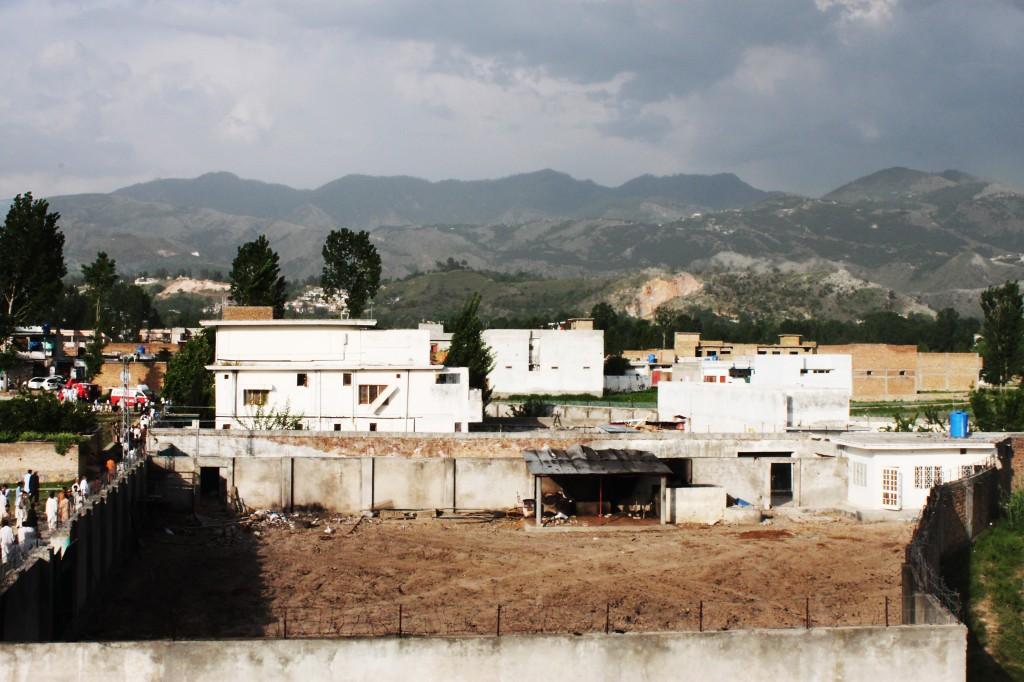 La casa de Bin Laden en Pakistán dos días después de su asesinato. AGUS MORALES