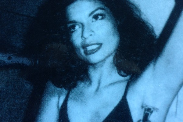 Bianca Jagger at Halton's House, New York. Foto de Andy Warhol.